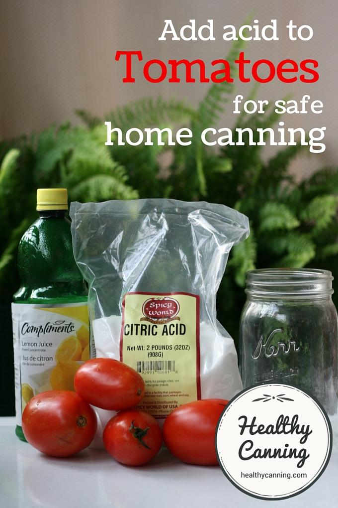 Acidifying tomatoes 1001