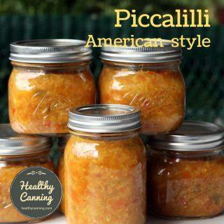 American-style piccalilli