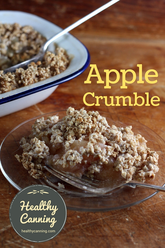 Apple Crumble 001