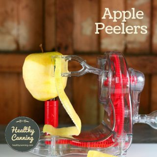 Apple peelers for home canning