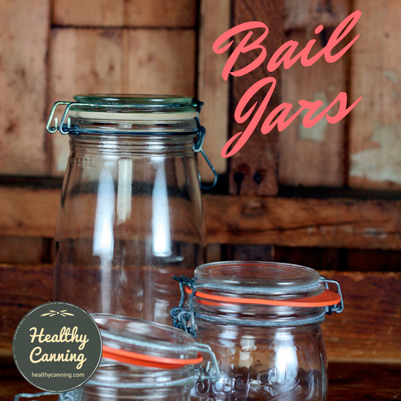 Bail Lid Jars