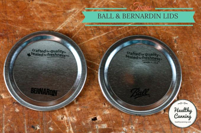 Comparing Ball & Bernardin Lids