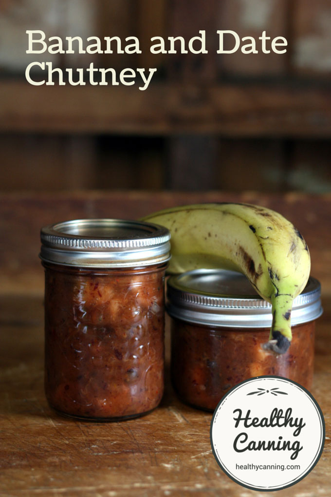 Banana and Date Chutney 001