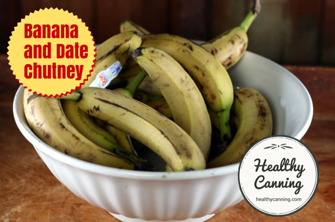 Banana and Date Chutney 015