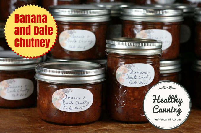 Banana and Date Chutney 016