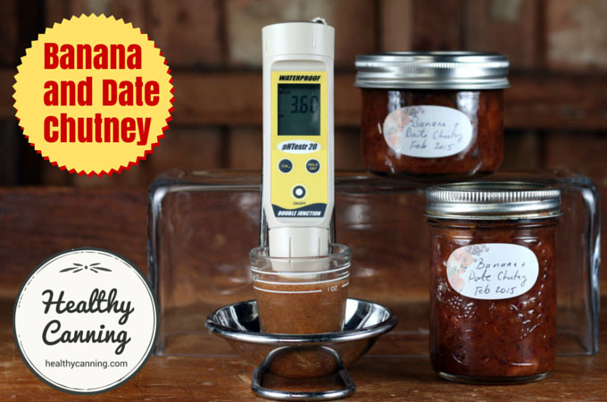 Banana and Date Chutney 017