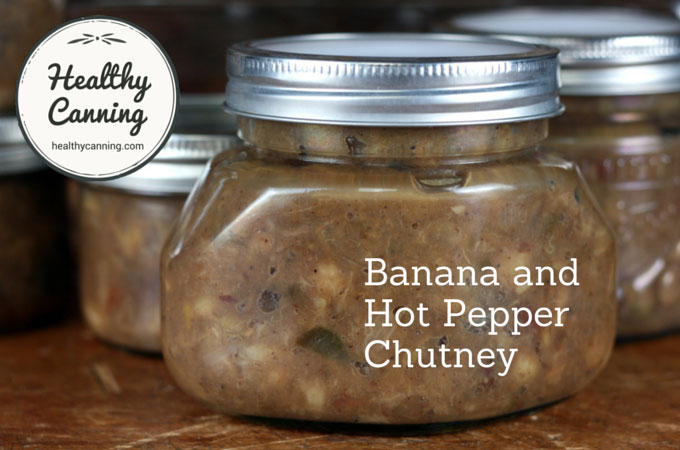 Banana and Hot Pepper Chutney 010