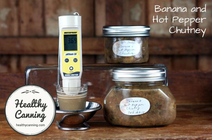 Banana and Hot Pepper Chutney 016