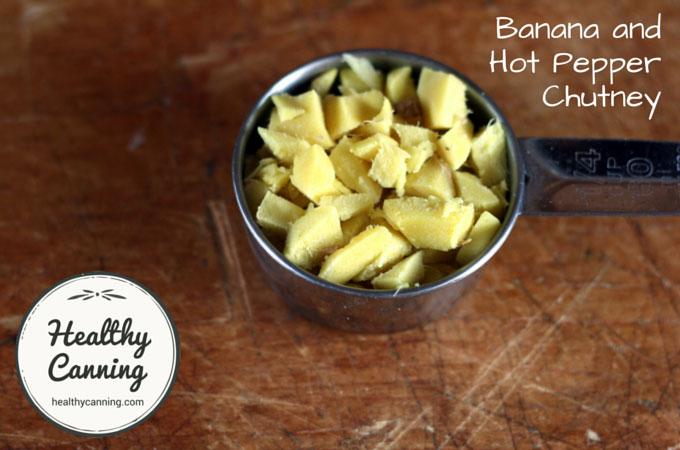 Banana and Hot Pepper Chutney 018