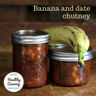 Banana and Date Chutney