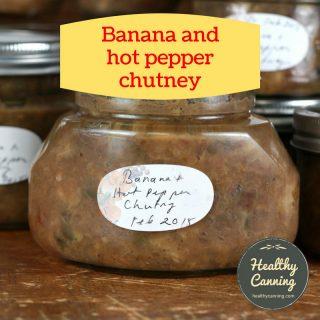 Banana and Hot Pepper Chutney