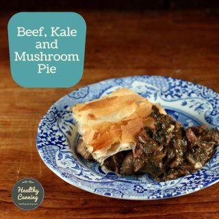 Beef, Kale, and Mushroom Pie