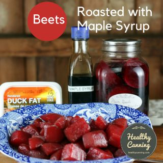Beets Roasted with Maple Syrup