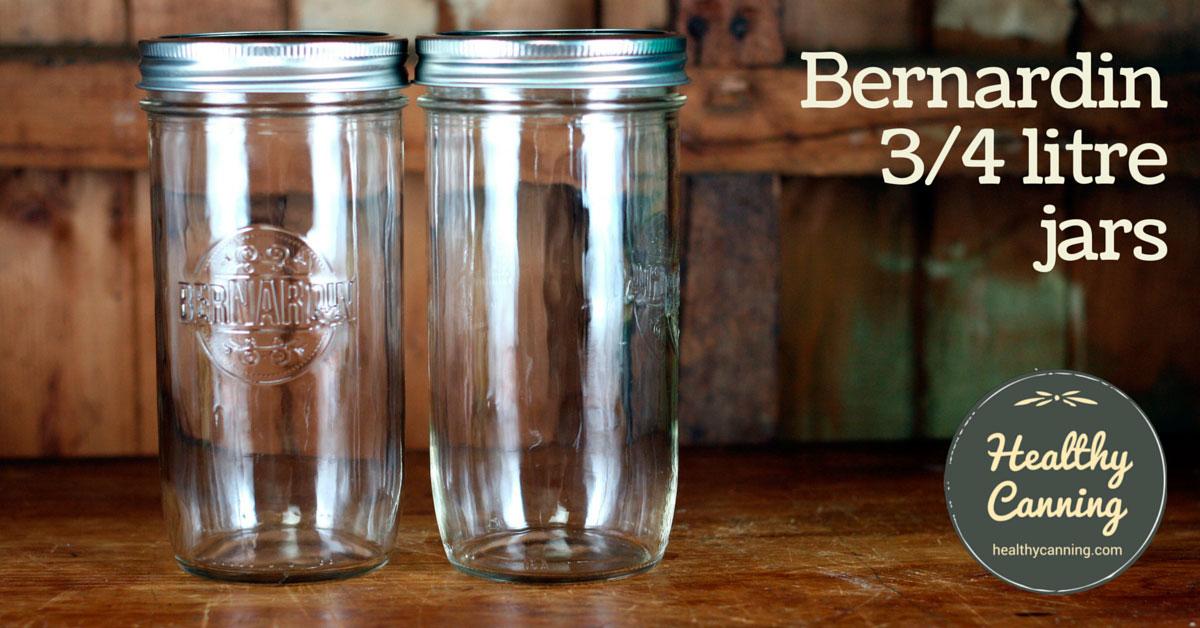 Bernardin 750 Ml Jars Healthy Canning