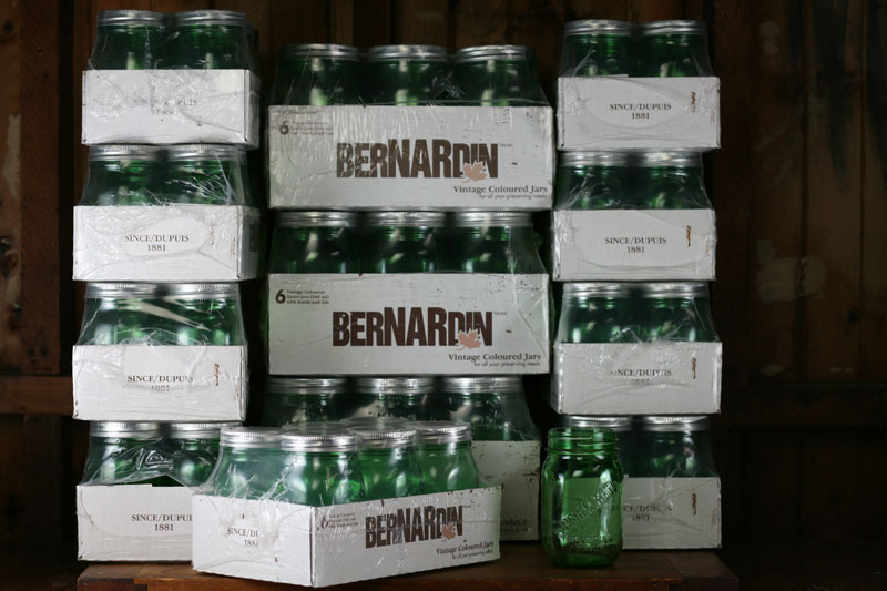Occasionally you can catch these green jars on sale, though not often.