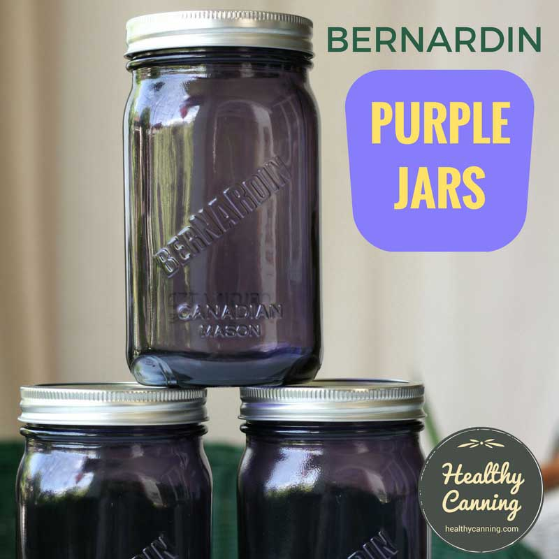 Bernardin Vintage Jars (Purple)