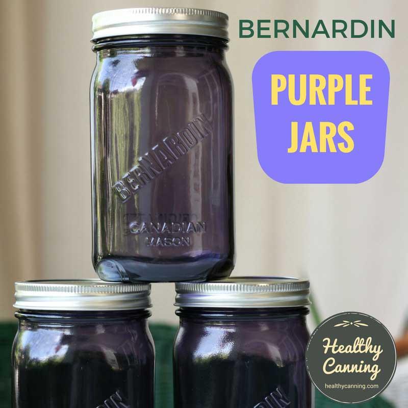 Bernardin Vintage Jars (Purple)