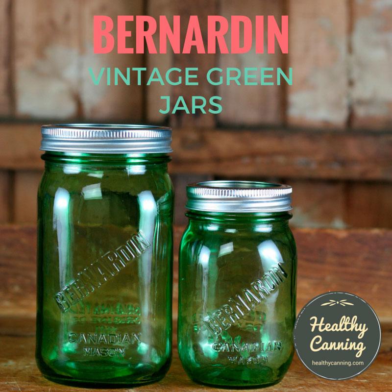 Bernardin Vintage Jars (Green)