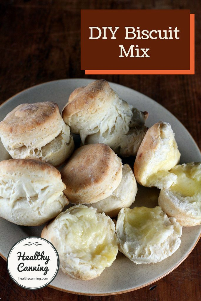 Biscuit Mix Healthy Canning