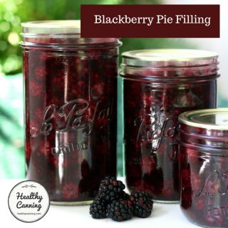 Blackberry Pie Filling