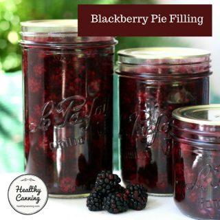 Blackberry Pie Filling