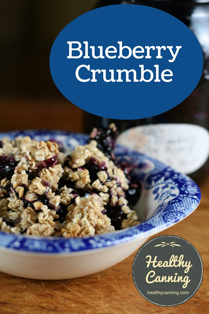 Blueberry Crumble 1001