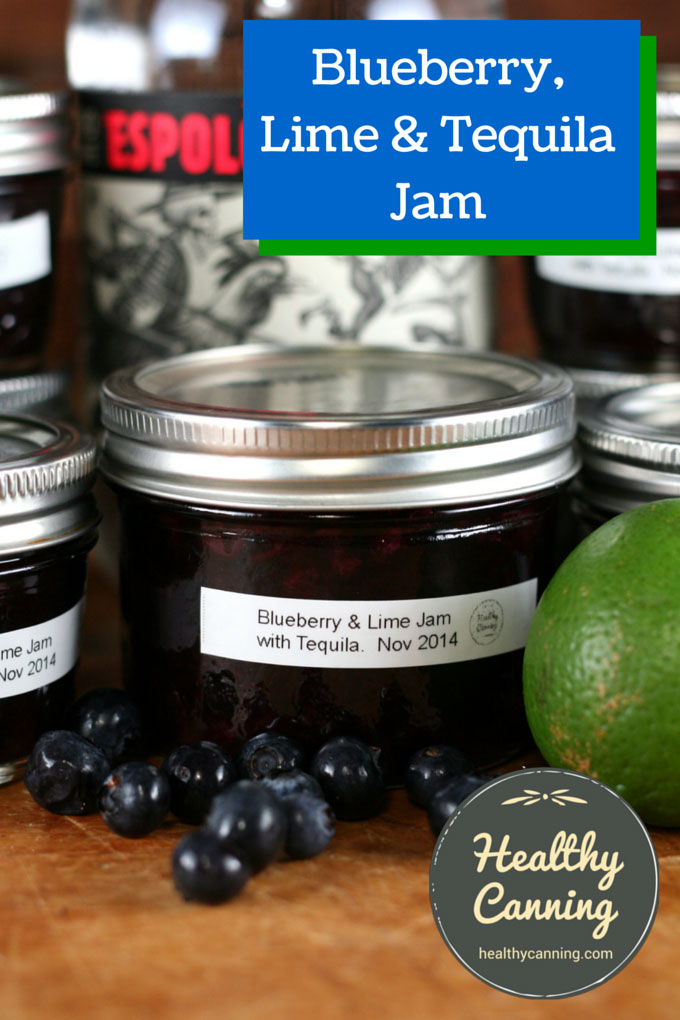 Blueberry, Lime & Tequila Jam 001