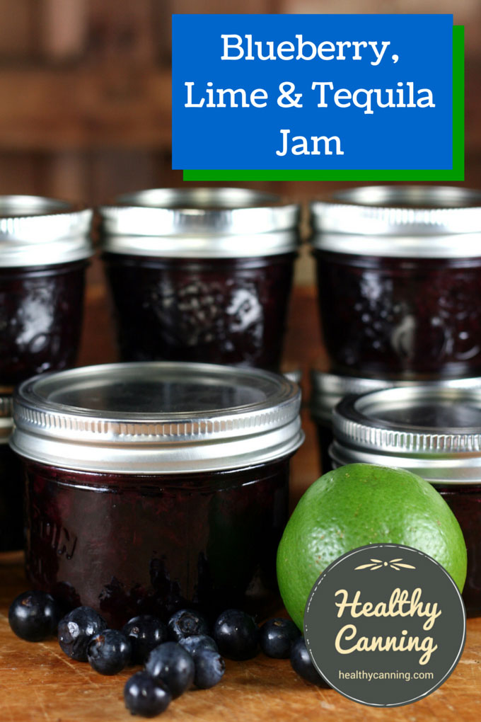 Blueberry, Lime & Tequila Jam 002