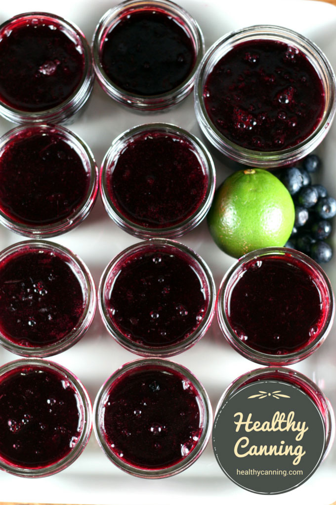 Blueberry, Lime & Tequila Jam 004