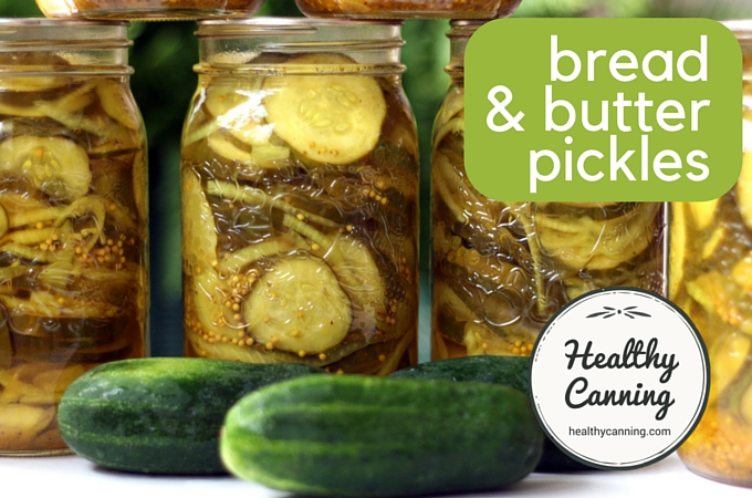 Bread and butter pickles 1002
