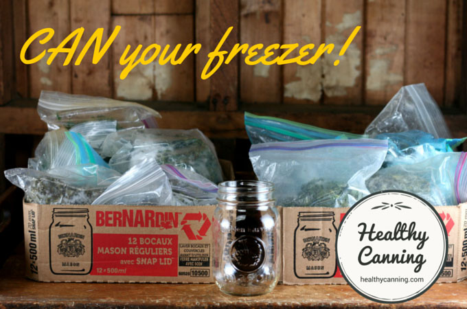 Can your freezer before