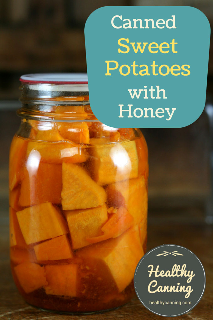 Canned Sweet Potatoes with honey 002