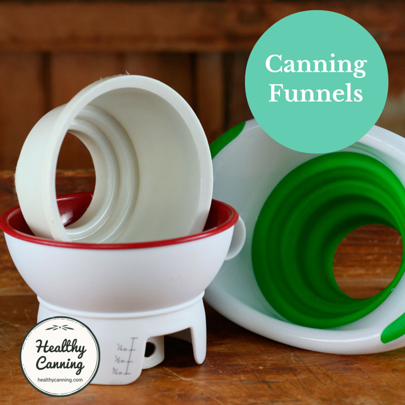 Funnels for home canning