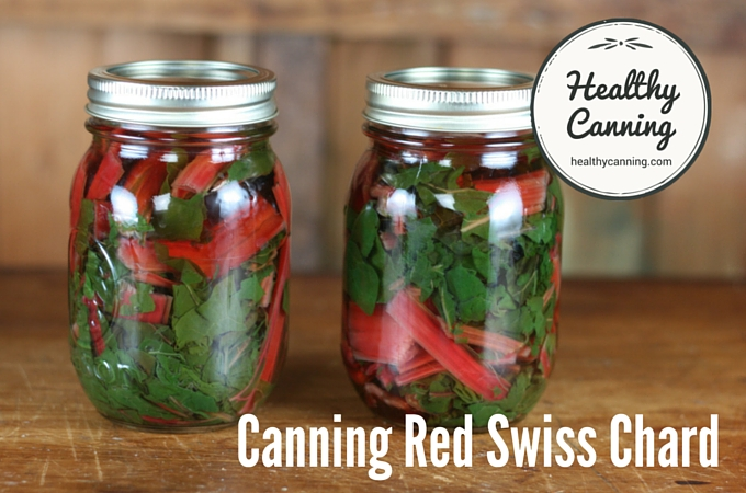Canning Red Swiss Chard 1004