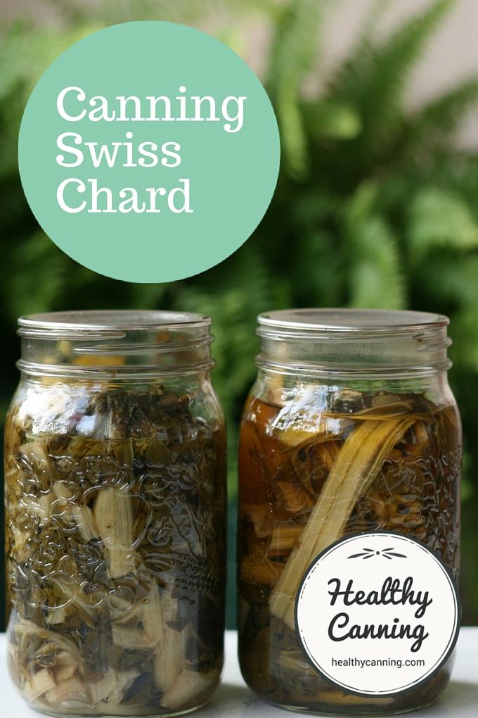 Canning Swiss Chard 1001