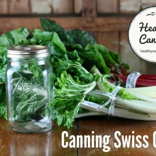 Canning Swiss Chard