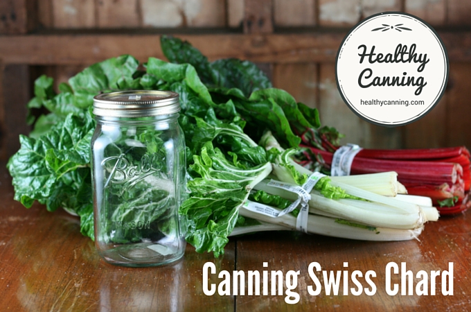 Canning Swiss Chard 1003
