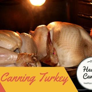 Canning turkey