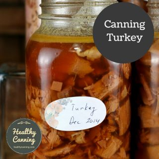 Canning turkey