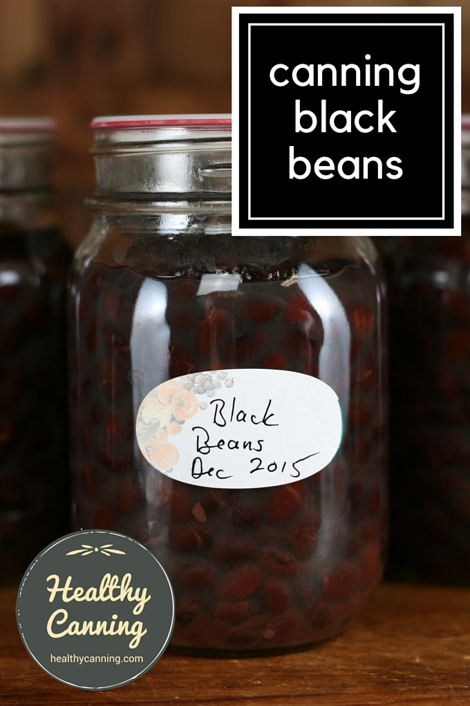 Canning black beans 1001