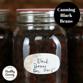 Canning black beans