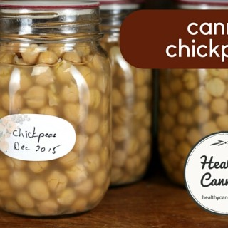 Canning chickpeas 1003