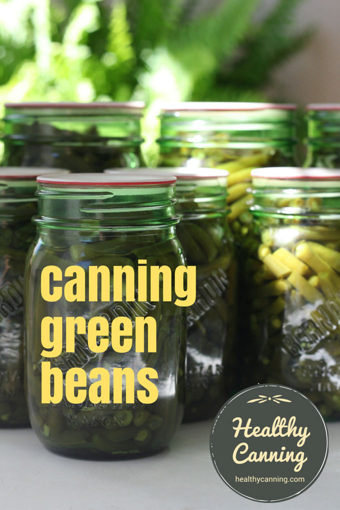 Canning green beans 201