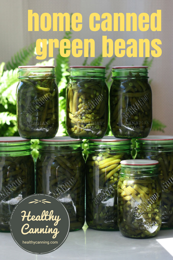 Canning green beans 204