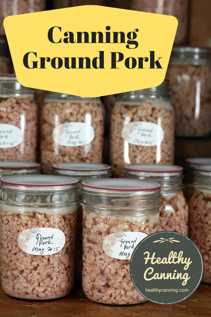 Canning ground pork 004