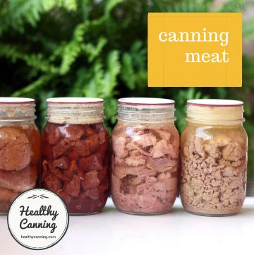 Home-canned meat