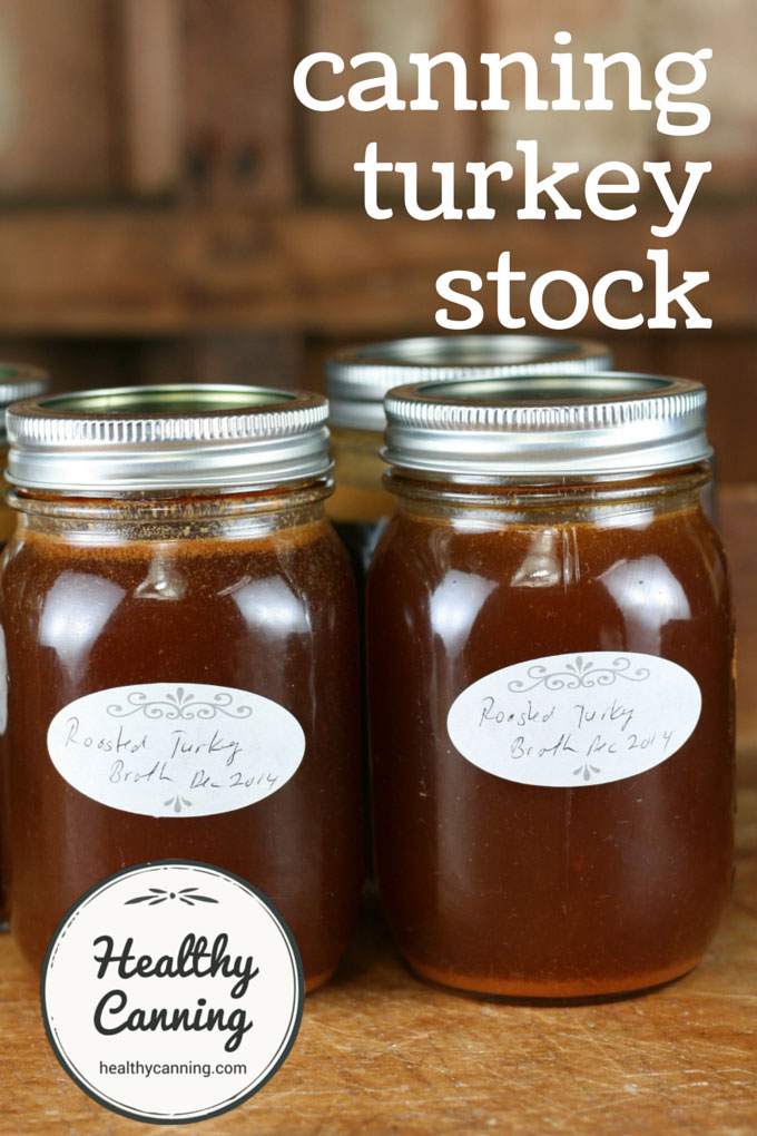 Canning turkey stock001