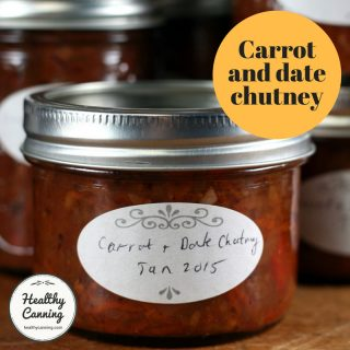 Carrot and Date Chutney