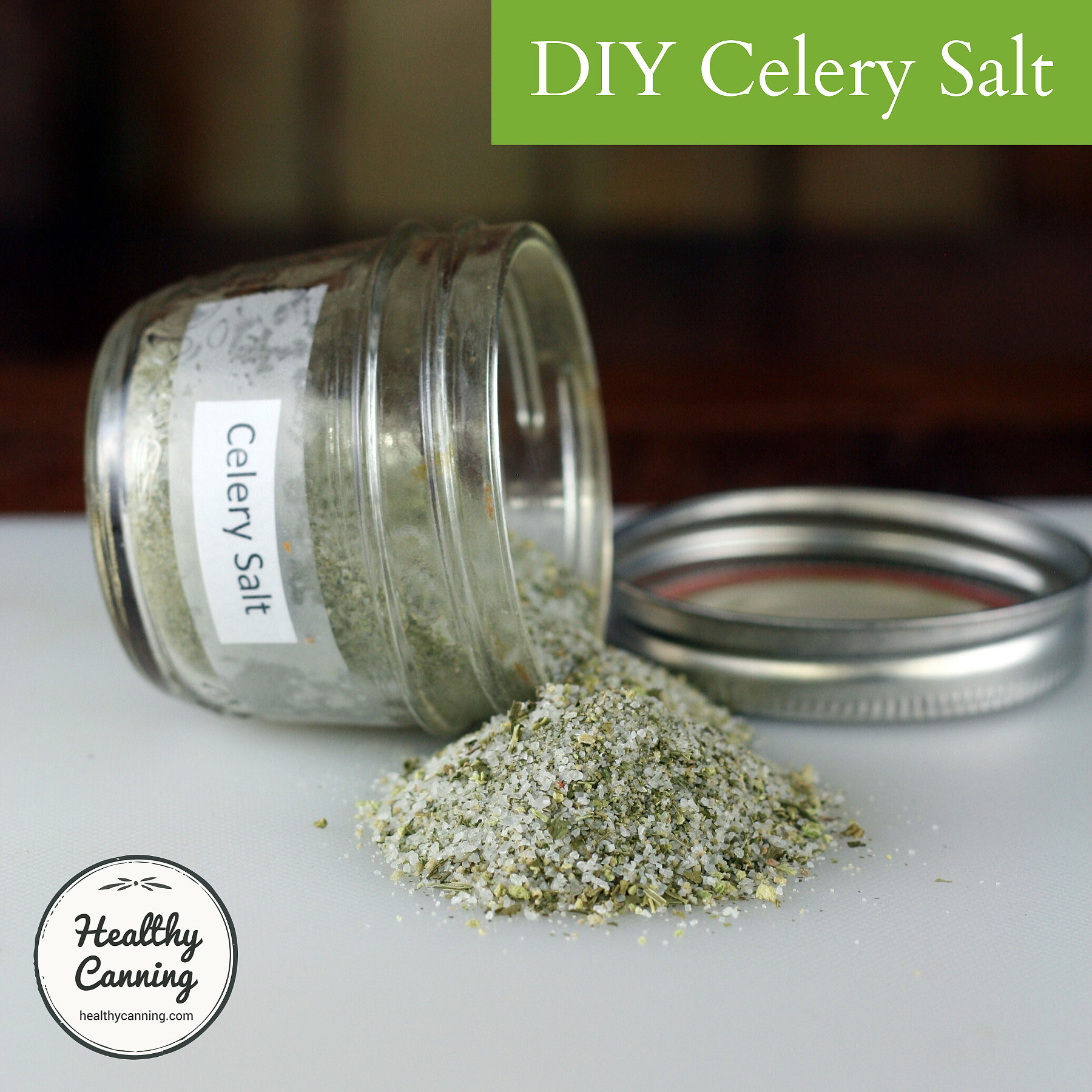 Celery Salt Diy Healthy Canning