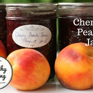 Cherry Peach Jam